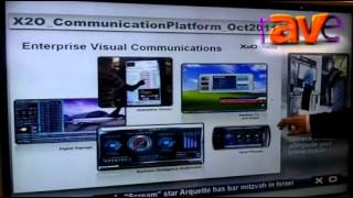 infocomm 2012 x2o media showcases the xpresenter live conference room experience