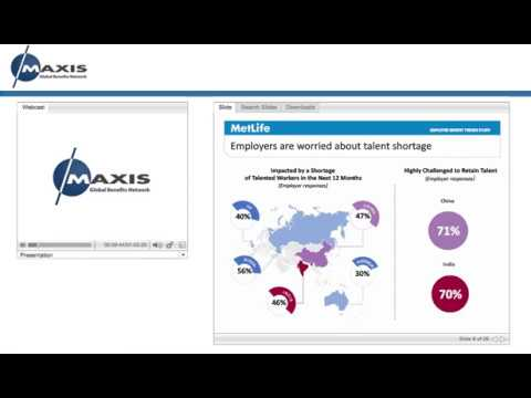 MAXIS webinar: Enhancing the employee value proposition in China & India