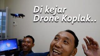 DI KEJAR DRONE KOPLAK   MINI DRONE JJRC H36