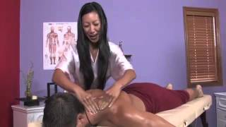 Magic hands of Young Girls  Massage  - asian pretty girls doıng massage happy ends