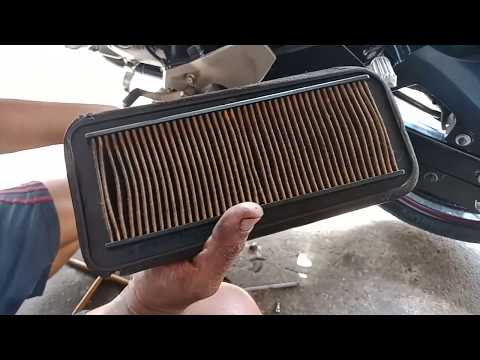 Yamaha Fz S Air Filter Cleaning