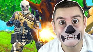 NOOB spielt SKULL TROOPER in Fortnite ..