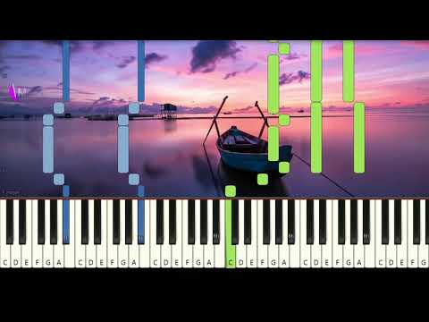 COLDPLAY - PARADISE - Very Easy Piano Tutorial MantapChord