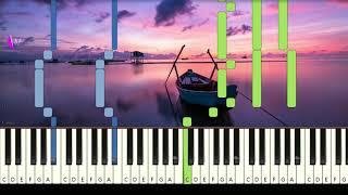 COLDPLAY - PARADISE - Very Easy Piano Tutorial MantapChord