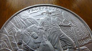 NEW! Prospector Silver Round!
