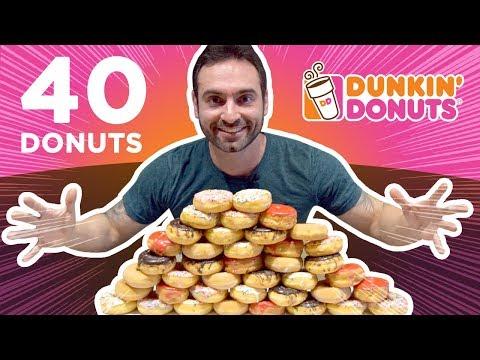 Desafio Dunkin' Donuts (13.800 kcal) [Especial 40k instagram]