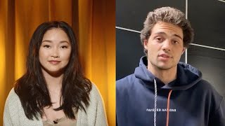 Favored Nations - Lana Condor and Noah Centineo To All The Boys Table Read and Virtual Event