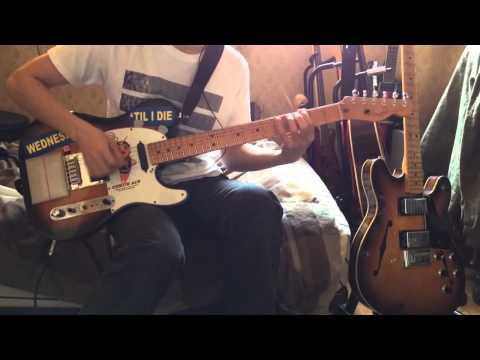 Radiohead - Go To Sleep(guitar cover) using Max/MSP