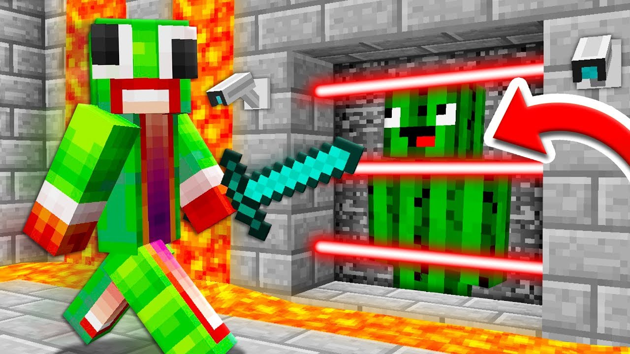 Unspeakable Saves Me From A *Secret* Minecraft Prison!