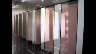 video vách ngăn toilet, video vách ngăn văn phòng, video vách ngăn di động