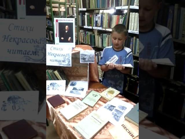 Изображение предпросмотра прочтения – ЮлияСтаврова читает отрывок изпроизведения «Несжатая полоса» Н.А.Некрасова