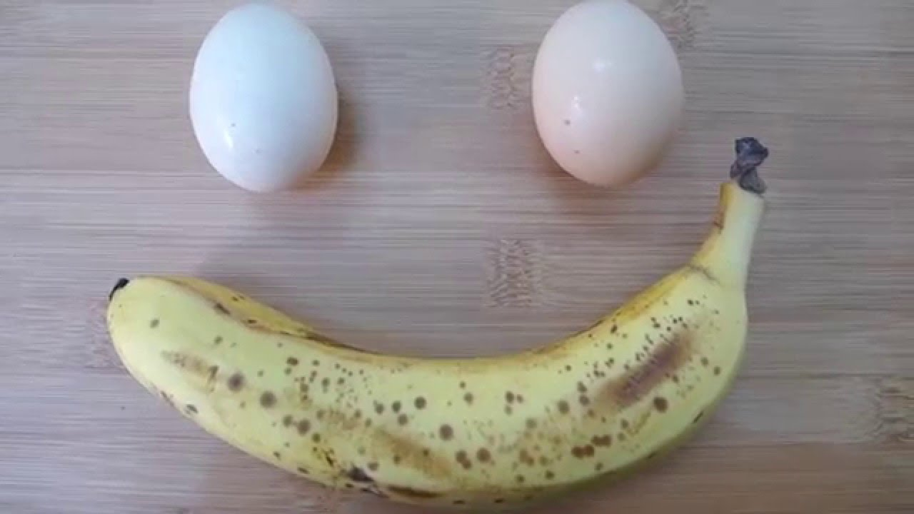 How to make easy 2 ingredient banana pancakes video recipe youtube ccuart Image collections