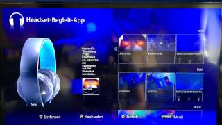 PS4 - Headset Setup Tutorial (Deutsch)