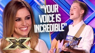 15 year old WOWS with ACOUSTIC cover of Disclosure's 'Latch'  | The X Factor UK