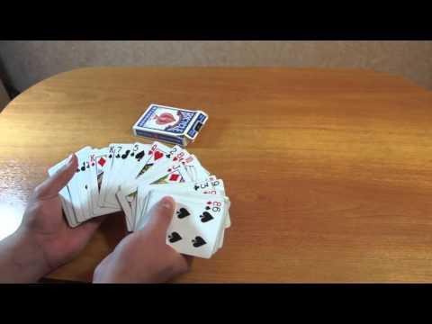 Бесплатное обучение фокусам 28 Самые лучшие карточные фокусы Фокусы для новичков