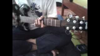 Genta Electric Guitar SG model & Behringer GDI 21 Demo