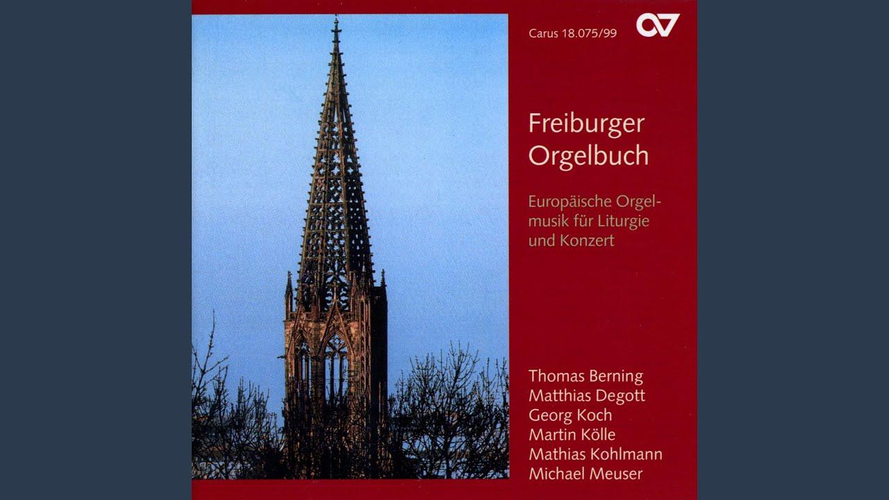 3 Pieces For Organ Op 92 No 1 Chant Du Soir Youtube
