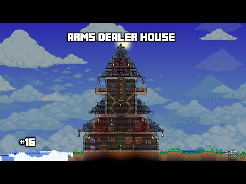 how to get an arms dealer in terraria