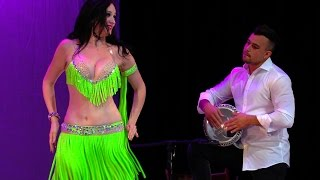 Belly dance drum solo: Shahrzad & Marshall Bodiker