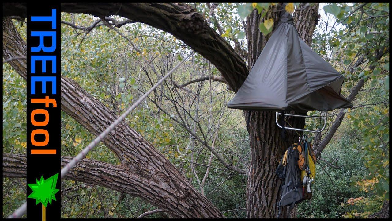 & DIY Single Portaledge Review - (overnight tree climb) - YouTube