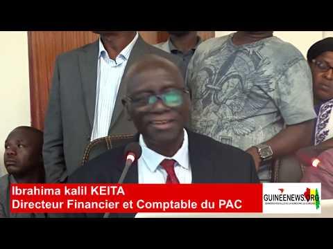 Concession du Port de Conakry : suivez en images les révélations du DAF Ibrahima Kalil Keita