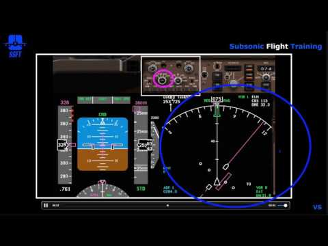 EFIS Control Panel (iFly 747-400)