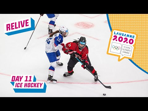 RELIVE - Ice Hockey -  JAPAN vs SLOVAKIA - Women's Semifinal - Day 11 | Lausanne 2020