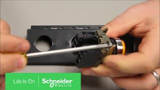 ZB2BE101 schneider electric bloc contact pour commutateur//for switch