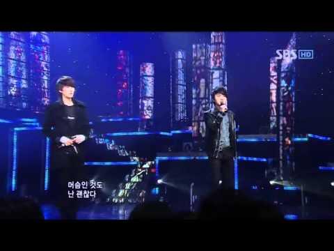 SM THE BALLAD - Hot times (에스엠 더 발라드 - 핫 타임) @ SBS Inkigayo 인기가요 101219