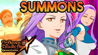 SUMMONS NA MARGARET/LUDOCIEL! 900 DIAMANTES SUMMONS! - The Seven Deadly Sins Grand Cross