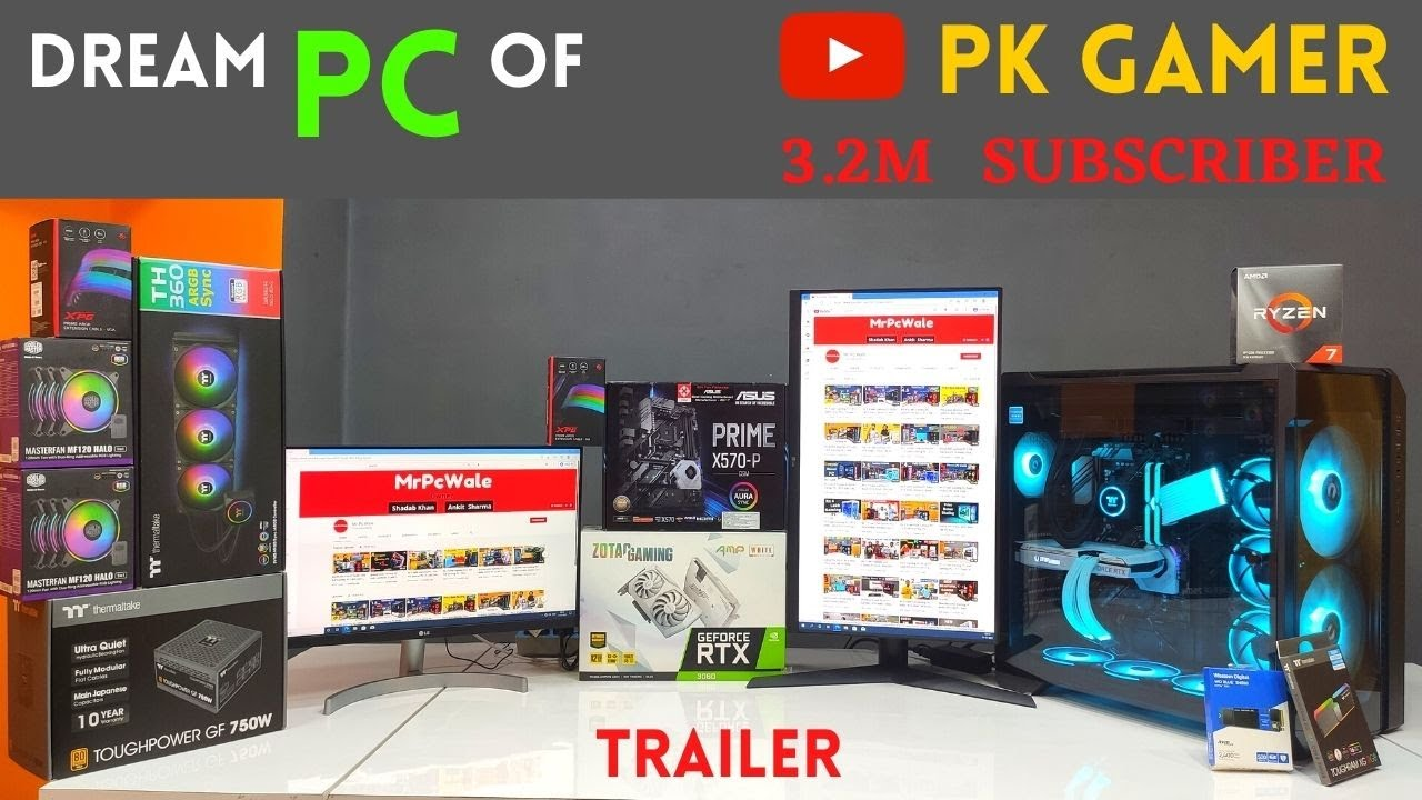 Building Dream PC of @PK Gamers    Mr Pc Wale