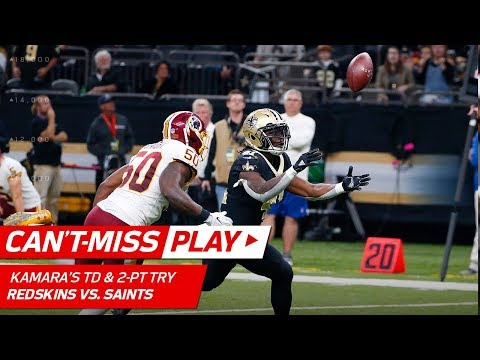 Alvin Kamara's Juggling TD Catch & 2-Pt Conversion to Force OT! | Can't-Miss Play | NFL Wk 11