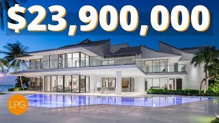 IS THIS THE BEST ULTRA LUXURY MANSION IN MIAMI FLORIDA?! $24 MILLION