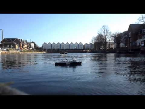 Chichester Ship canal. 28-01-2013 (1080P HD)