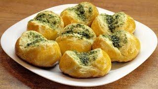 Чесночные булочки / Ukrainian garlic rolls Pampushki ♡ English subtitles