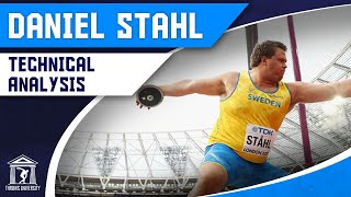 Daniel Stahl 2017 Discus World Championships | Technical Analysis