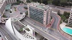 Coronavirus : Monaco, vue du ciel pendant le confinement