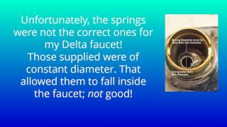 How to Get Correct Parts for Delta Bathroom Faucet