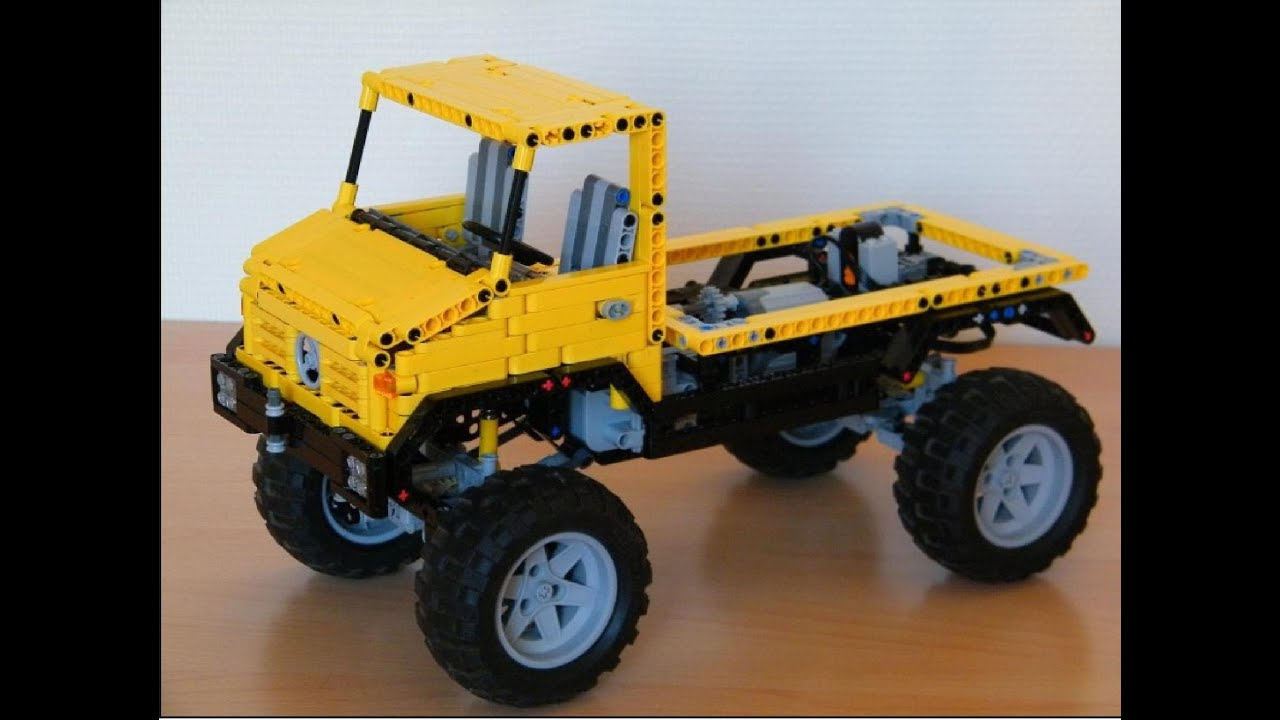lego technic moc unimog v4 youtube. Black Bedroom Furniture Sets. Home Design Ideas