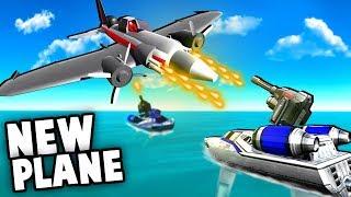 NEW Secret Update!?  Planes vs Battleships, NEW Secret Chopper!? (Ravenfield Battlefield Mod)