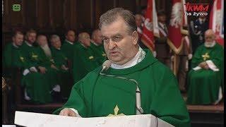 Homilia ks. prał. Bogdana Bartołda wygłoszona podczas Mszy Świętej w Warszawie