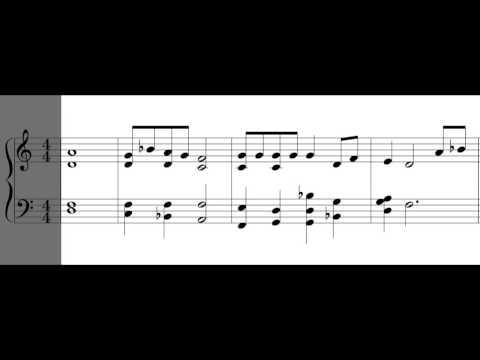 Gregorian Psalm Tones Mode Peregrinus - mix