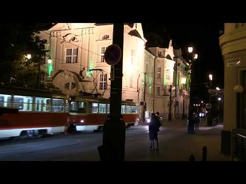 City of Bratislava - Tourist board vidéo - a long walking in the intimacy of the city ...