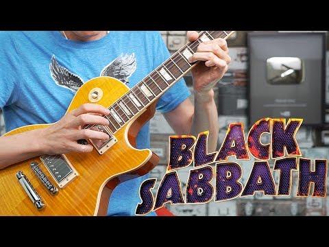Paranoid Guitar Solo Cover | Black Sabbath | Gibson Les Paul Standard