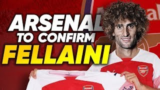 Manchester United To Let Marouane Fellaini Join Arsenal For Free?! | Transfer Talk