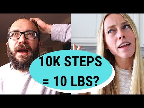 Walking 10,000 Steps a Day For Weight Loss [Does it WORK?]