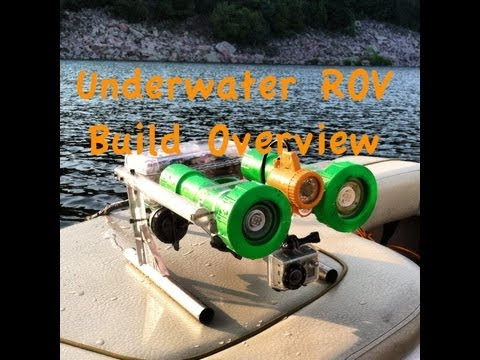 Underwater ROV Build Overview