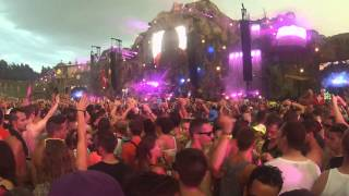 """HARDWELL LIVE AT TOMORROWLAND 2013, """"as the rains came down"""""""