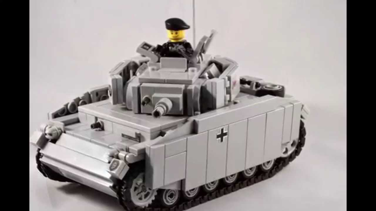 panzer iii ausf n made out of lego bricks by brickfactory berlin youtube. Black Bedroom Furniture Sets. Home Design Ideas