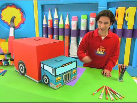 Download Art Attack   How To Make A Storage Truck!!   Disney India Official